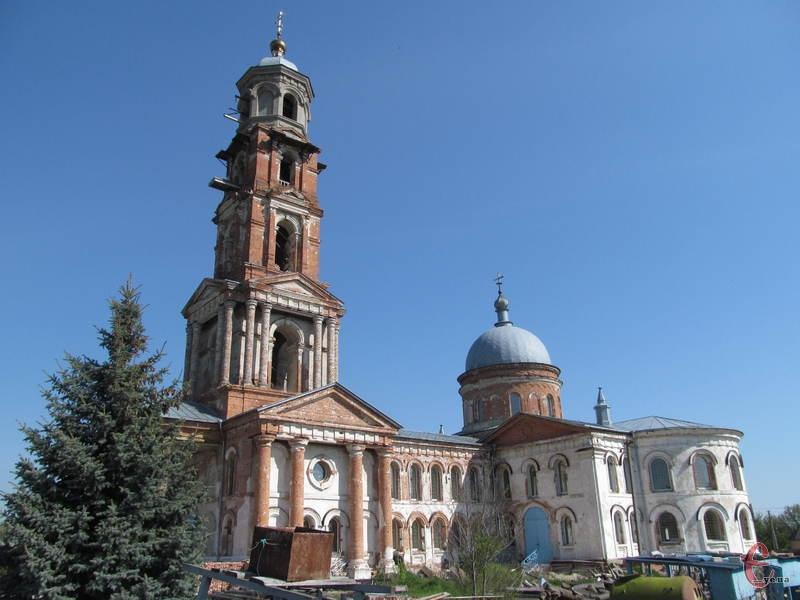 Миколаївська церква - найвідоміша пам'ятка Миропілля