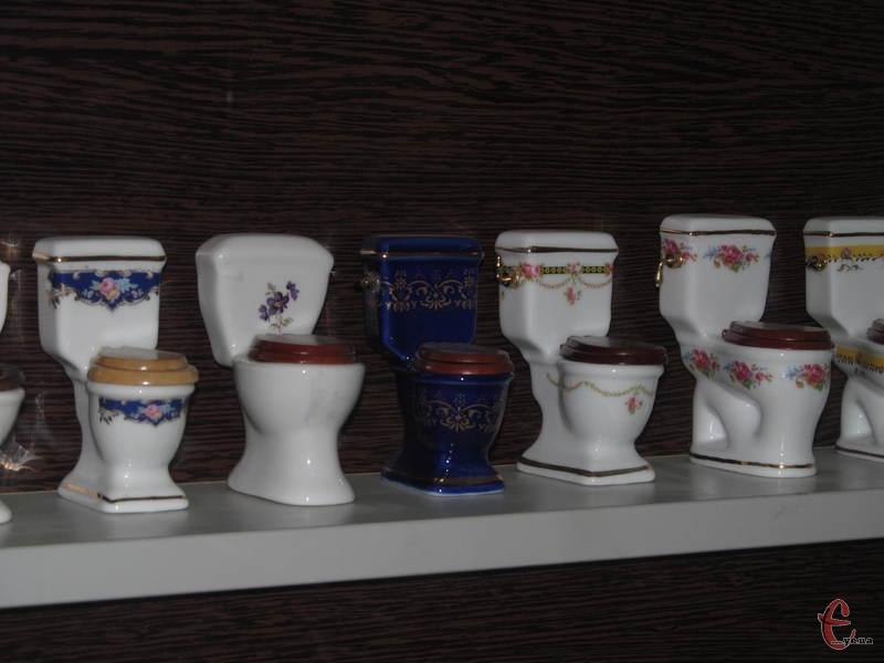 Колекція сувенірних унітазів стала поштовхом до створення музею