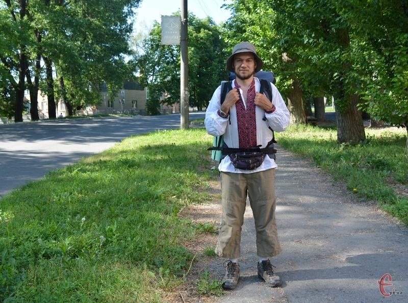 Мандрівник у Хмельницькому провів майже цілий день