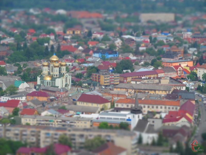 Панорама міста із замку