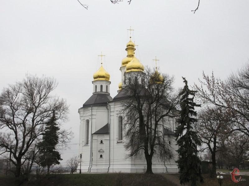 Катерининська церква - окраса Чернігова