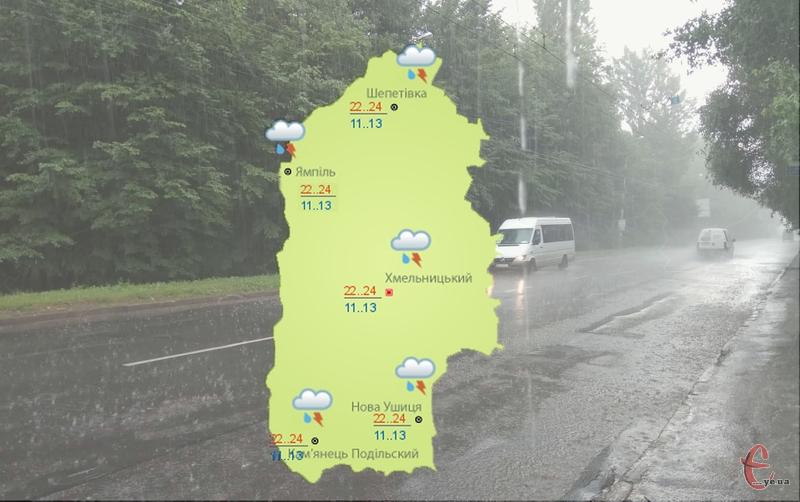 Дощі вже прогнозують осінні, хоча й з теплом