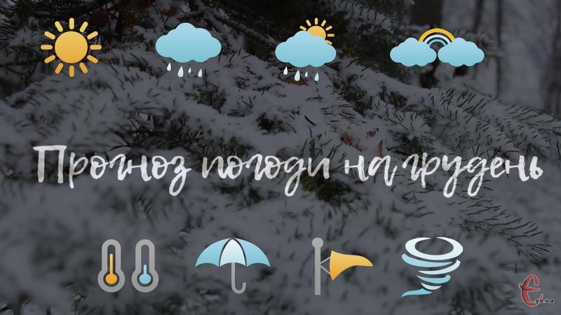 У грудні будуть як морозні дні, так і теплі. А на Новий рік прогнозують зимову ніч