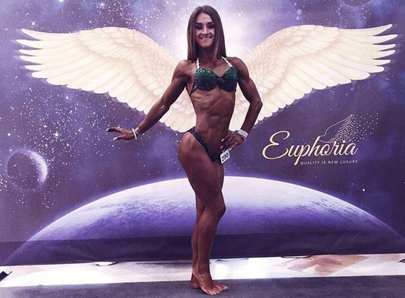 Ірина Крапивницька з Кам'янця-Подільського стала володаркою Кубка України та срібною призеркою Чемпіонату Європи з бодіфітнесу