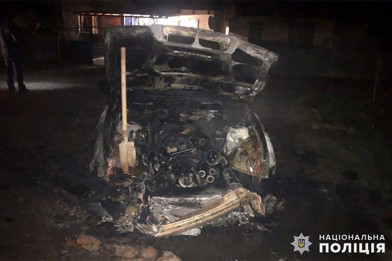 Автомобіль підпалили невідомі