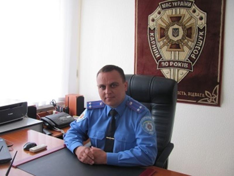 Микола Гаврілов керуватиме поліцейськми Хмельницького району