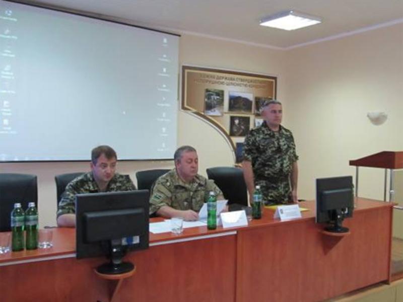 Володимира Паршикова - днями представили персоналу Мукачівського прикордонного загону