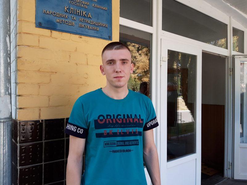 Сергій Цибізов нині проходить обстеження у війсьвому шпиталі в столиці України