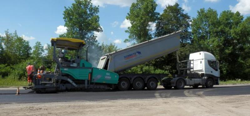 Заплановано відновити дорожнє покриття на 7 ділянках автодороги