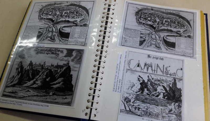 Каталог містить 53 фотокопії