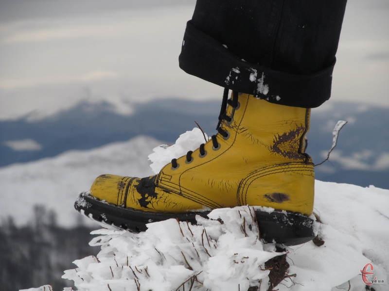 У поході взуття має бути надійнішим, ніж для звичайного вжитку