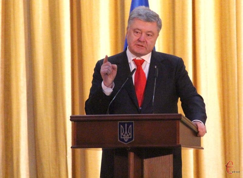 Петро Порошенко вдруге за тиждень відвідає Хмельниччину
