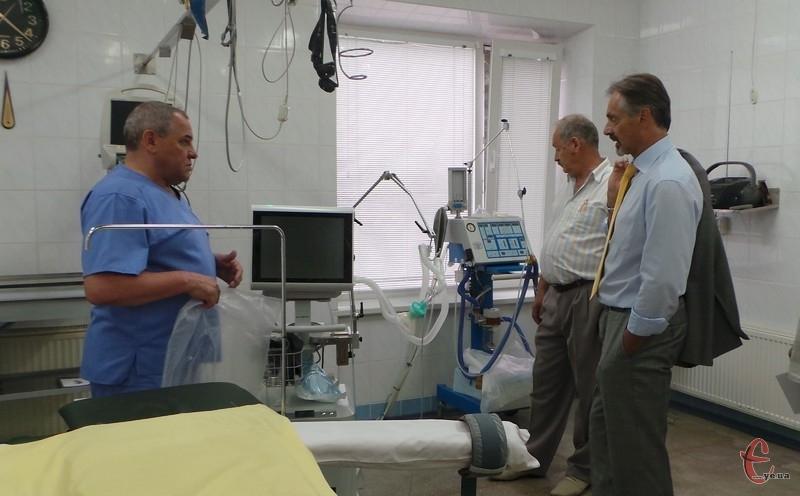 Володимир Кобіта: апарат для штучної вентиляції легень немовлят поки випробовуємо на дорослих