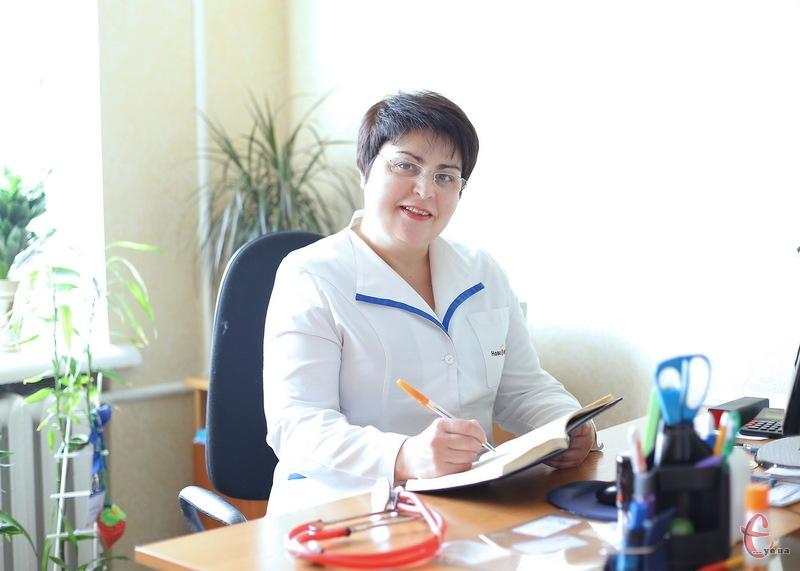 Завідуюча Хмельницькою амбулаторією загальної практики-сімейної медицини №11 Анжеліка Брухнова