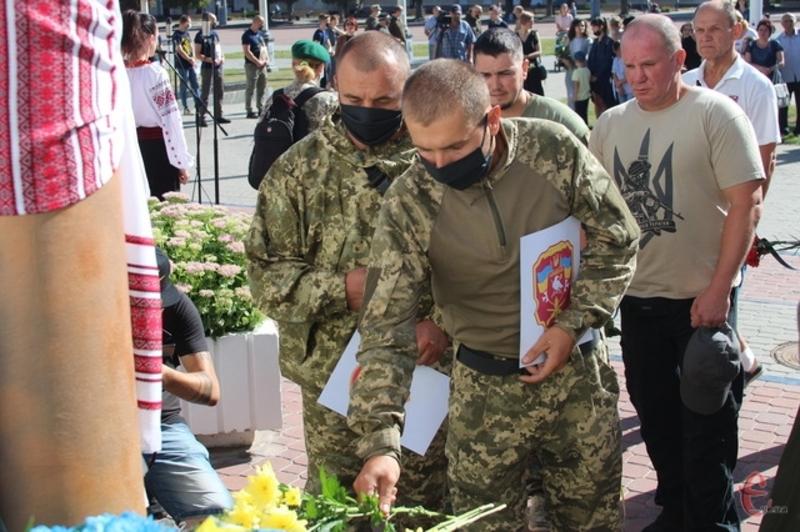 29 серпня на Хмельниччині вшанували пам\'ять захисників, які загинули в боротьбі за незалежність, суверенітет і територіальну цілісність України