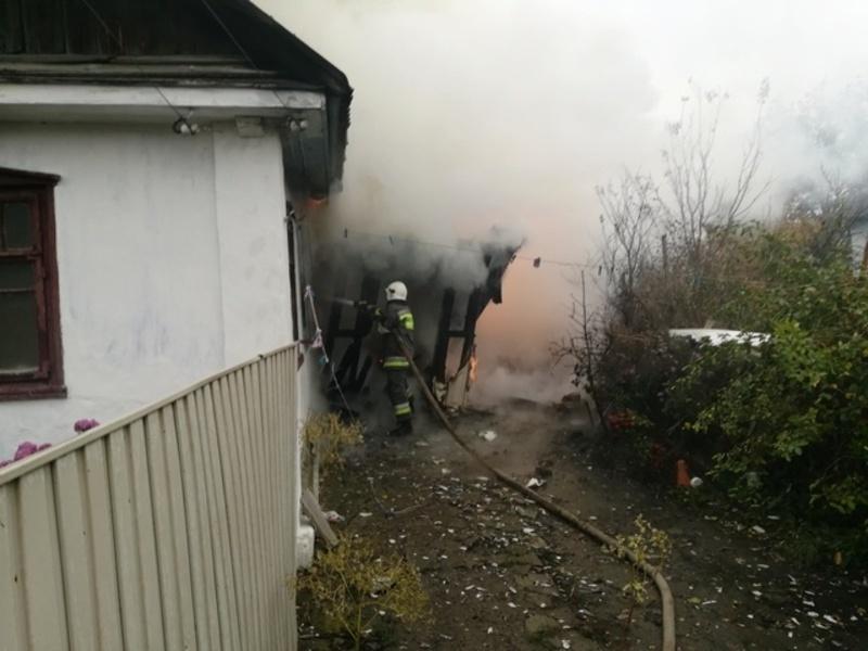 Обвинувачуваний стояв на подвір'ї та спостерігав за пожежею