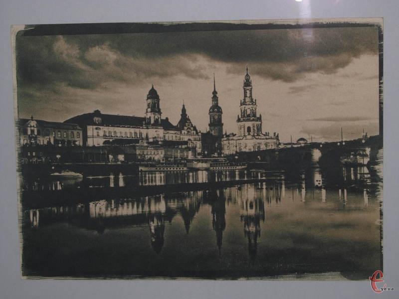 Дрезден, ціанотипія, 2011 рік