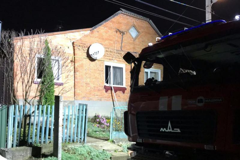 Під час ліквідації пожежі в житловому будинку надзвичайники виявили тіло чоловіка