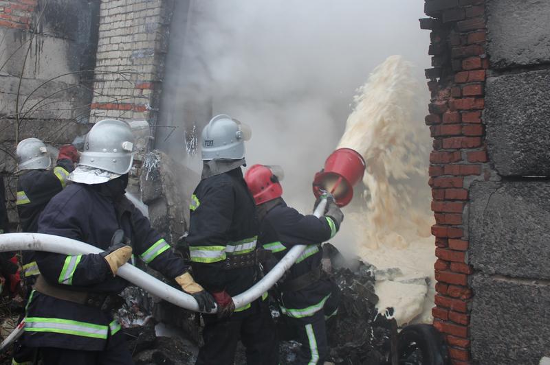 Пожежу гасили 18 рятувальників
