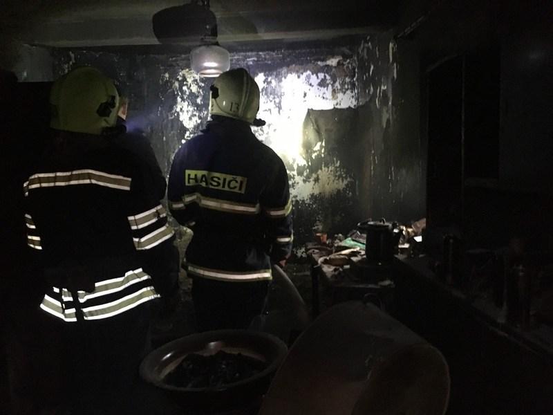 Вогнеборці загасили вогонь, але пожежа забрала життя чоловіка