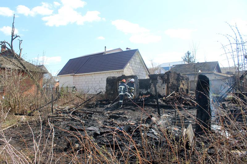 Вогнеборці ліквідували пожежу господарчої споруди