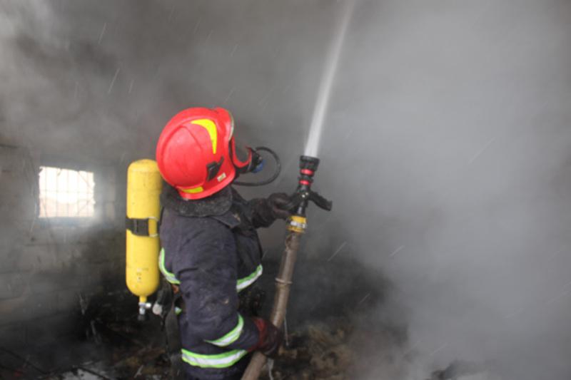 Пожежу загасили за лічені хвилини