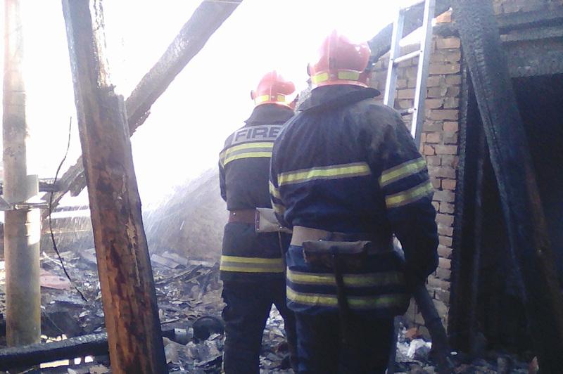 Травмованих на пожежі не було