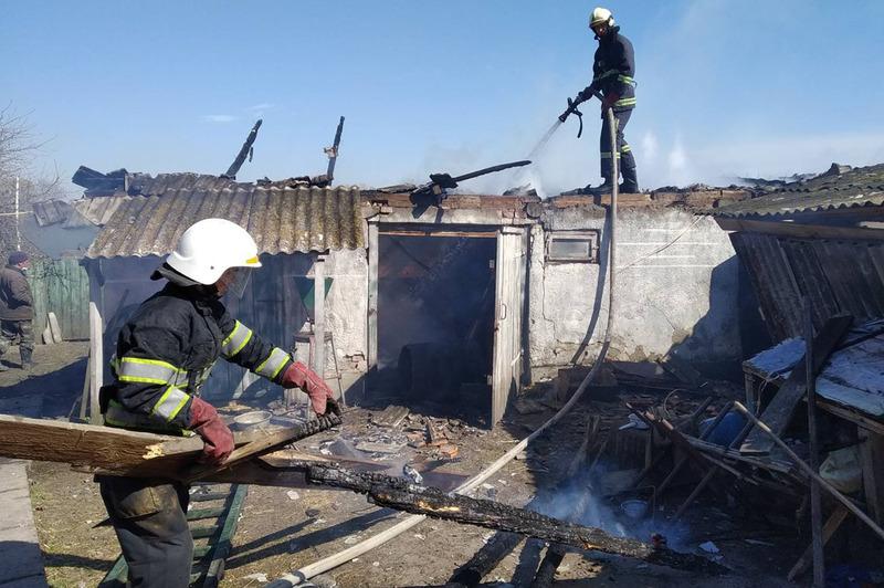 На Хмельниччині минулої доби сталося 19 пожеж