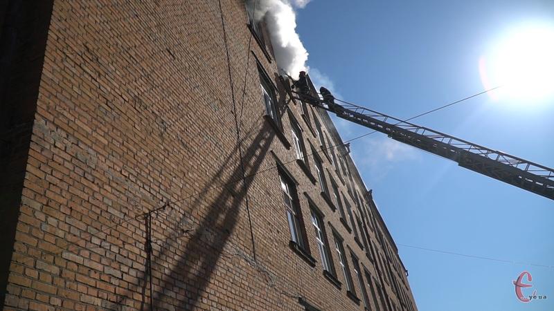 У Хмельницькому сталася пожежа у ЗОШ№1