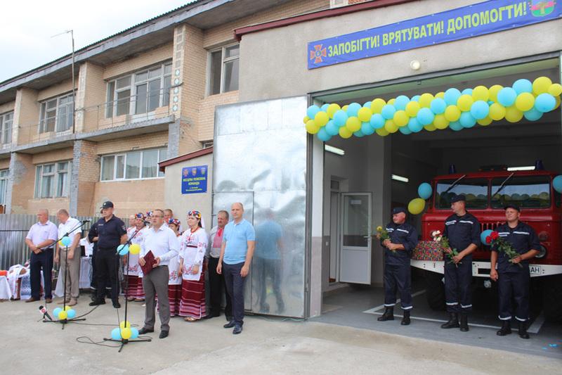 На Хмельниччині створено і діють 89 місцевих пожежних команд та 84 добровольчі пожежні дружини