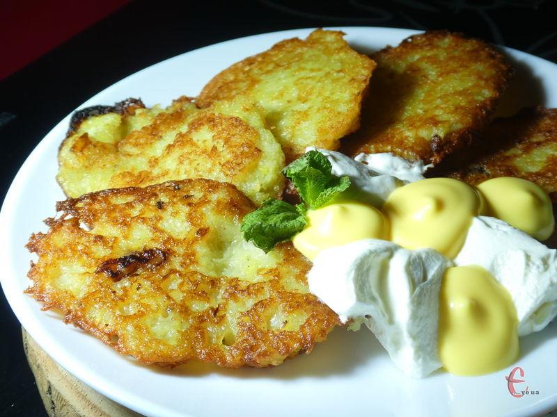 Смачний і простий рецепт саме дерунів, а не картопляних оладок.