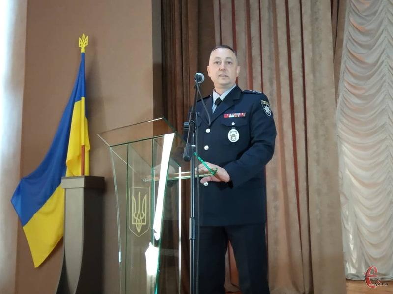 Анатолій Щадило, новий керівник управління Нацполіції в Хмельницькій області