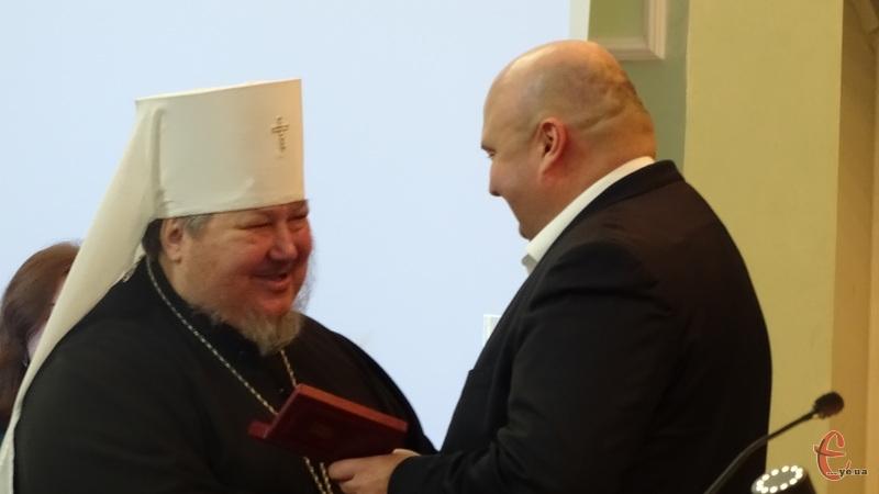 Митрополит отримав державну нагороду