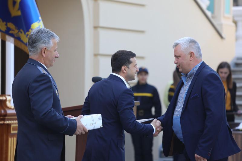 Сьогодні президент вручив відзнаку Володимиру Уткіну