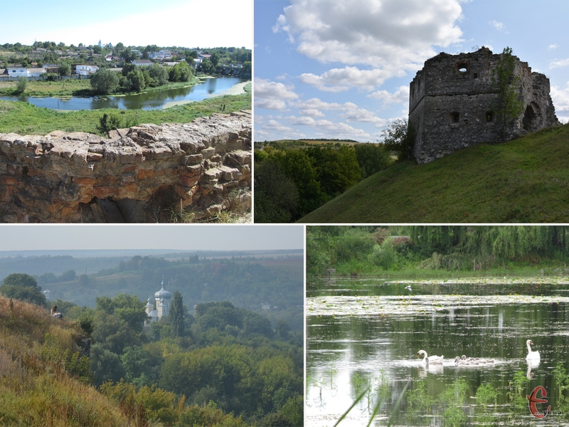 У 30-60 км від Хмельницького є місця, які потішать гарною природою та цікавими пам'ятками архітектури