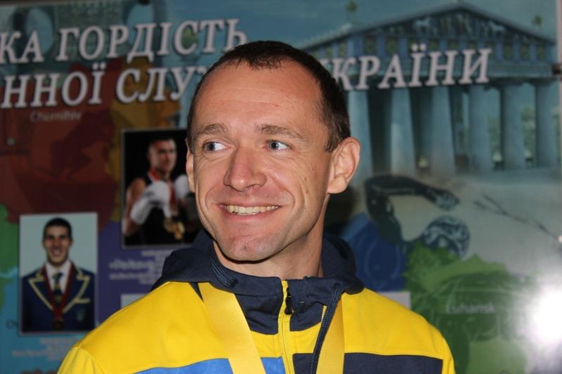 Віктор Шинкарук - срібний призер ІГор нескорених