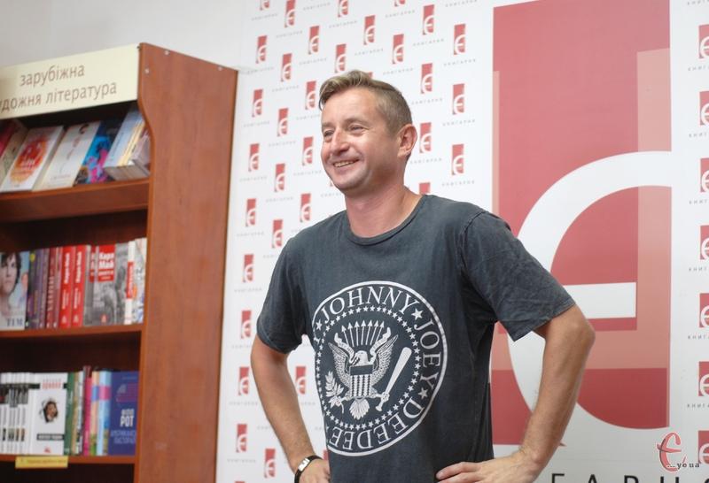 Сергій Жадан декламував вірші та розповів над чим зараз працює