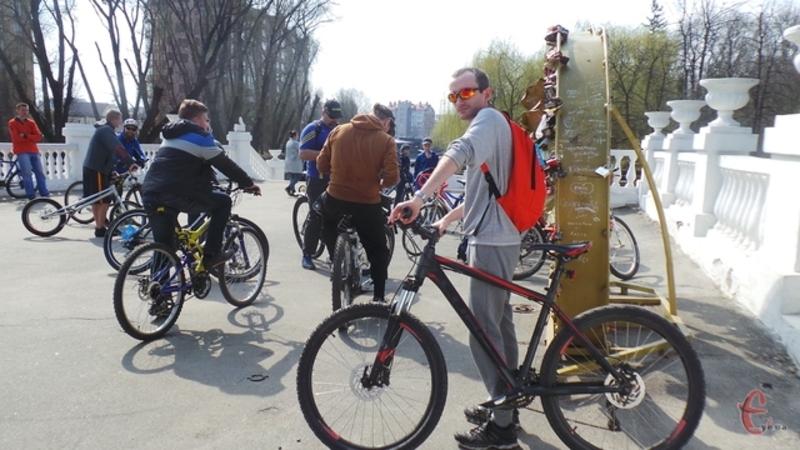 Відкриють велосезон у неділю