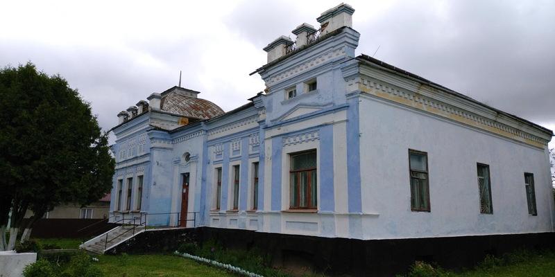 Особняк адвоката Периторіна у Деражні ймовірно був збудований у 1917 році