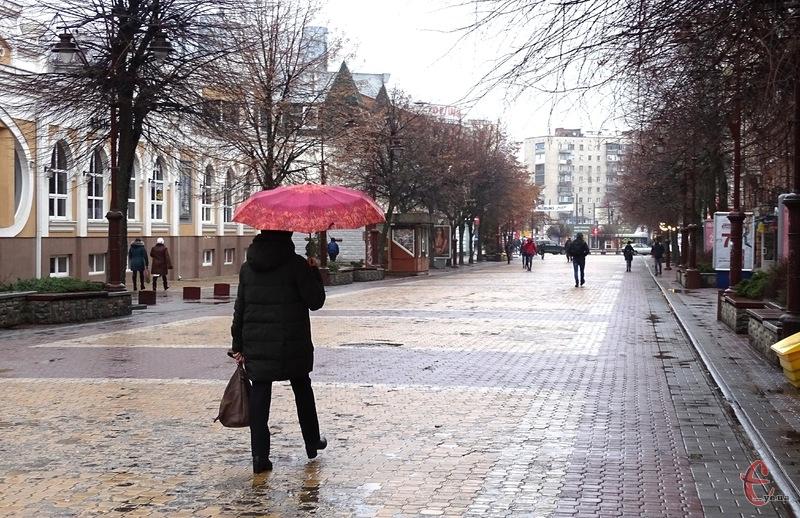 Майже на всій території області прогнозують дощ з мокрим снігом
