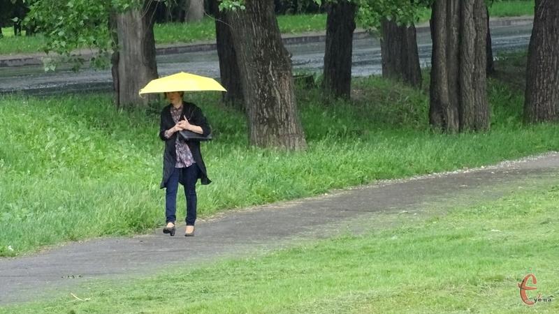 Знову прогнозують дощі