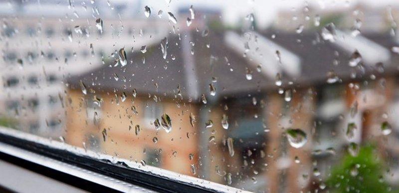 Понеділок буде із дощем