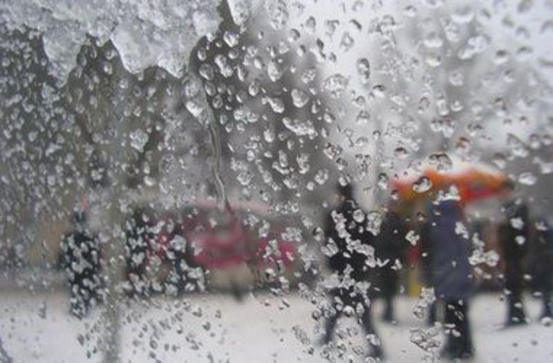 Січень завершується відлигою, «плюсами», туманами, мрякою, дощем, мокрим снігом..