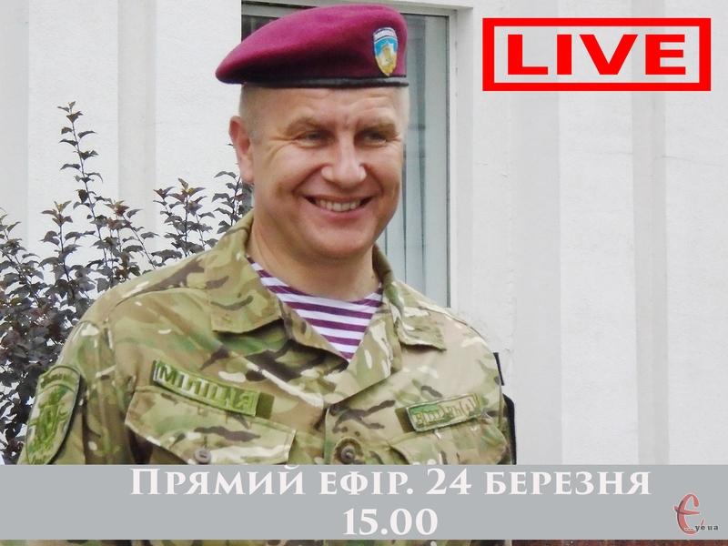 Микола Семенишин відповість на запитання подолян 24 березня о 15.00