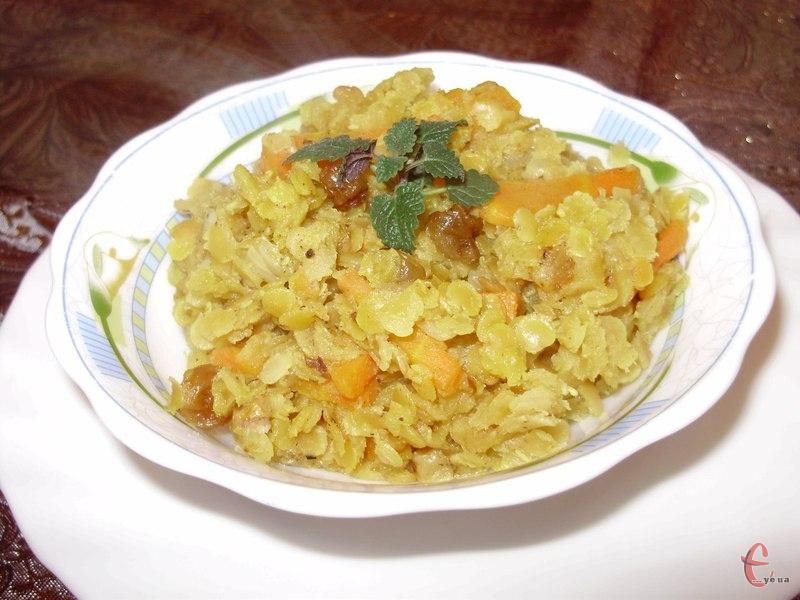 . Цей рецепт належить до індійської кухні, яка славиться ароматними вегетаріанськими пісними стравами
