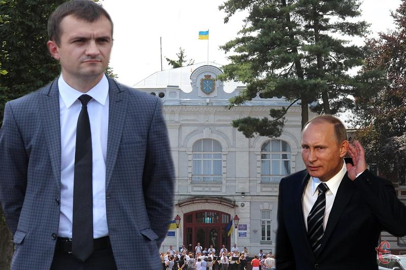 Позаштатним радником Олександра Симчишина став Путін В.В. Звісно, не росіянин