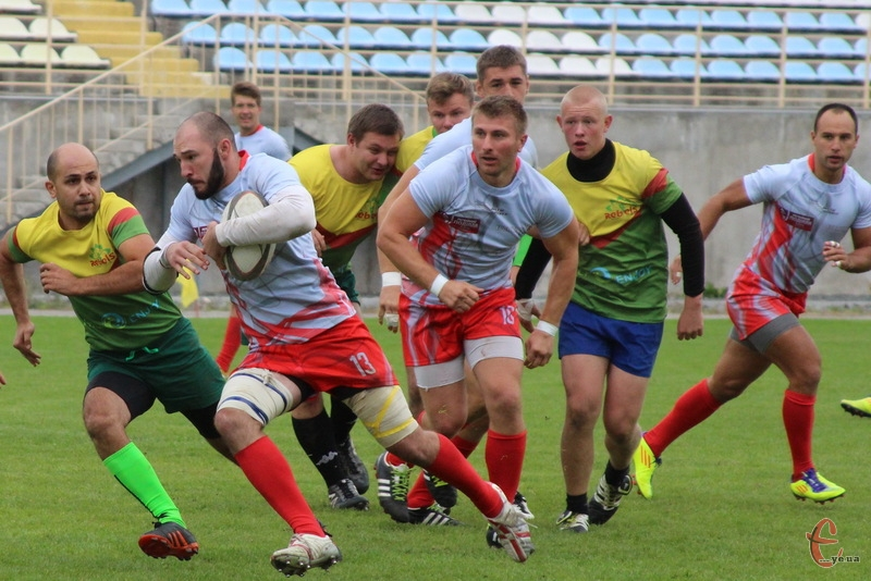 Нещодавно хмельницькі регбісти здолали киян у Кубку України з регбі-7. Тепер перемогли й в регбі-15