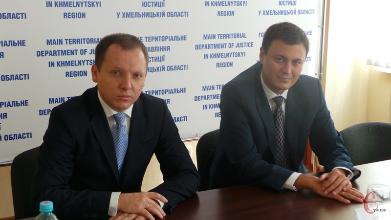 Ігор Алексєєв (праворуч) та Віктор Худняк