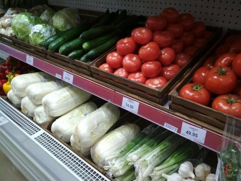 Ціни на ранні овочі м'яко кажучи вражають