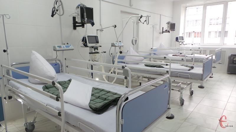 Відтепер важко хворих хмельничан лікуватимуть у реанімаційному відділенні, оснащеному сучасним обладнанням